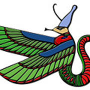 Egyptian Demon Art Print