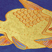 Egyptian Fish Art Print by Bob Coonts
