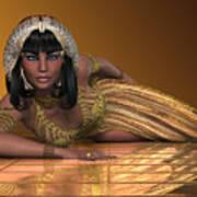 Egyptian Priestess Art Print