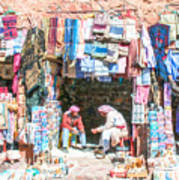 Egyptian Shop Keepers 2 Art Print