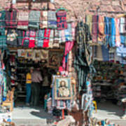 Egyptian Tourist Shops Art Print