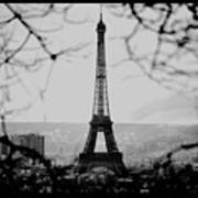 Eiffel Eyeful Art Print