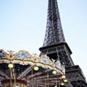 Eiffel Tower 7 Art Print