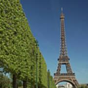 Eiffel Tower-9 Art Print