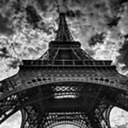 Eiffel Tower Print by Allen Parseghian