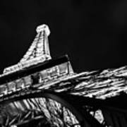 Eiffel Tower Las Vegas Art Print