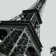 Eiffel Tower Slightly Askew Art Print