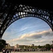 Eiffel Tower View Art Print