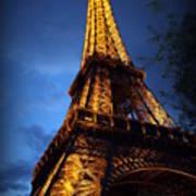 Eiffel's Magic Art Print