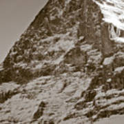 Eiger North Face Art Print