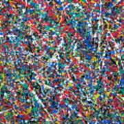 Eight-dimensional Region Of Space 5.11.13. Art Print