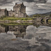 Eilean Donan Castle 3 Art Print by Wade Aiken