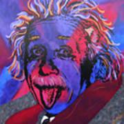Einstein-professor Print by Bill Manson
