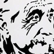 Einstein Waiting In Line Art Print