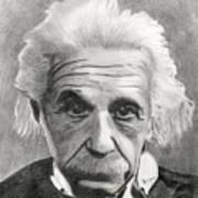 Einstein's Eyes Art Print