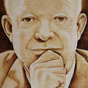 Eisenhower - The Man  Art Print