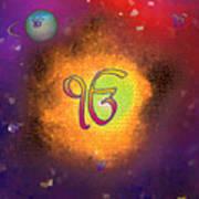 Ek Onkar Galaxy Art Print