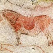 Ekain Cave Horse 2 Art Print