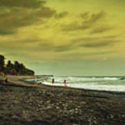 El Beach - El Salvador Art Print