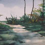 El Camino De La Manana Art Print