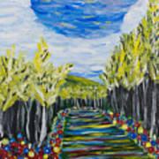 El Camino - Primavera - The Path - Spring Art Print