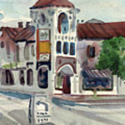 El Camino Real In San Carlos Art Print