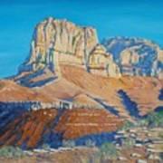 El Capitan At The Guadalupe Peaks Art Print