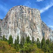 El Capitan In Yosemite National Park Art Print