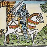 El Cid Campeador (1040?-1099) Art Print