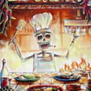 El Cocinero Art Print