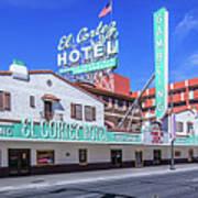 El Cortez Hotel On Fremont Street 2.5 To 1 Ratio Art Print