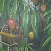 El Cucu De Mango Art Print