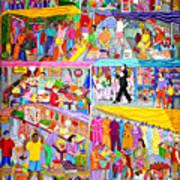 El Mercado Art Print
