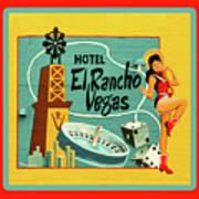 El Rancho Art Print