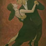 El Tango Art Print