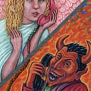 El Telefono Art Print