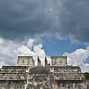 El Templo De Las Columnas  1 Art Print