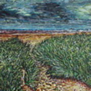 El Viento Del Mar Art Print