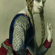 Eleanor Of Aquitaine, Queen Of Henry II Art Print