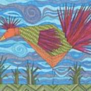 Electric Chicken Art Print