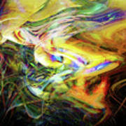 Electric Fluids Art Print