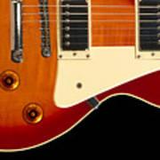 Electric Guitar 4 Art Print