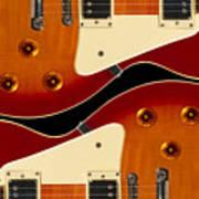 Electric Guitar II Art Print by Mike McGlothlen