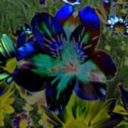 Electric Lily Art Print