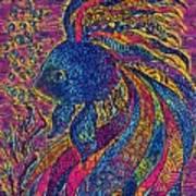 Electric Little Fish Art Print
