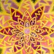 Electric Lotus Art Print