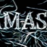 Electric Namaste Art Print