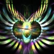 Electric Wings Art Print
