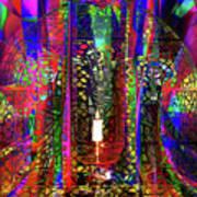 Electromagnetic Light Art Print
