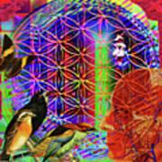 Electromagnetic  Art Print by Joseph Mosley